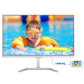 "PHILIPS 246E7QDSW PLS 23.6"" Bianco Full HD"