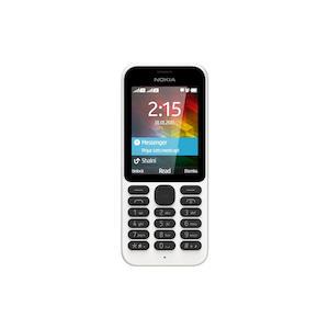 NOKIA 215 DS Bianco