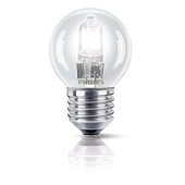 PHILIPS EcoClassic Lustre lamp Lampadina alogena forma sferica 872790083154200