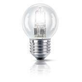 PHILIPS EcoClassic Lustre lamp Lampadina alogena forma sferica 872790083152800