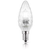PHILIPS EcoClassic Candle deco lamp Lampadina alogena forma oliva 872790082098000