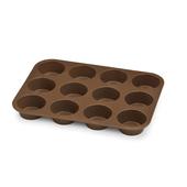 BIALETTI 12 stampi in silicone per muffin 34 cm