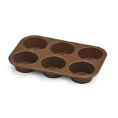 BIALETTI Teglia in silicone per muffin 6 pezzi 25 cm