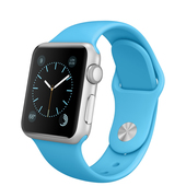 APPLE Watch Sport 38 mm Silver Blue