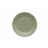 TOGNANA PORCELLANE Piatto piano Coimbra verde 27 cm