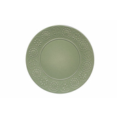 TOGNANA PORCELLANE Piatto piano Coimbra verde 31 cm