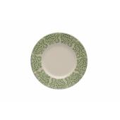 TOGNANA PORCELLANE Piatto da dessert Coimbra verde 20 cm