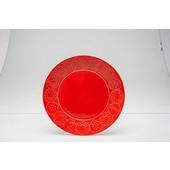 TOGNANA PORCELLANE Piatto da dessert Coimbra rosso 20 cm