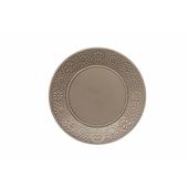 TOGNANA PORCELLANE Piatto piano Coimbra sabbia 27 cm