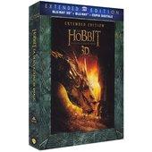 WARNER BROS Lo Hobbit - La desolazione di Smaug (extended edition) (Blu-ray 3D)