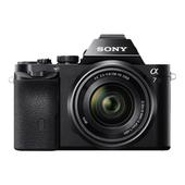 SONY α7K Corpo ILC full-frame con obiettivo con zoom standard