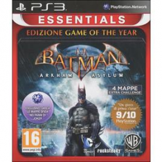 WARNER GAMES Essentials Batman Arkham Asylum GOTY Ps3