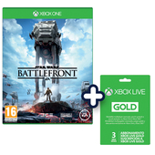 ELECTRONIC ARTS Star Wars: Battlefront - PS4 + PS Plus 90 gg