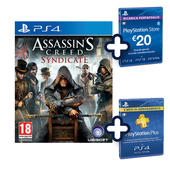 UBISOFT Assassin's creed syndicate special edition - PS4 + cards