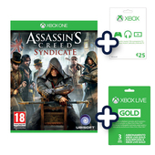 UBISOFT Assassin's creed syndicate special edition - Xbox One + cards