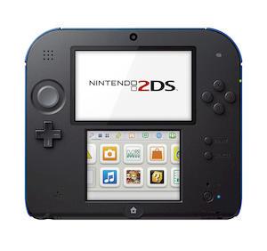 NINTENDO 2DS Nero E Blu + Mario Kart 7