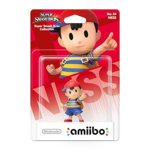 NINTENDO - Amiibo Statuetta Smash Ness