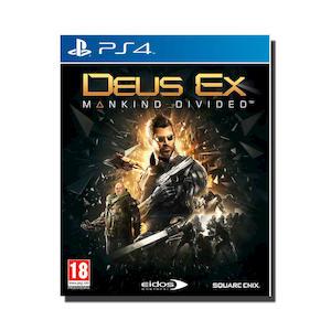 PREVENDITA - DEUS EX: MANKIND DIVIDED - PS4