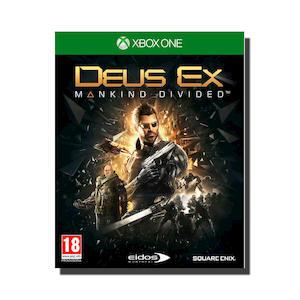 PREVENDITA - DEUS EX: MANKIND DIVIDED - XBOX ONE