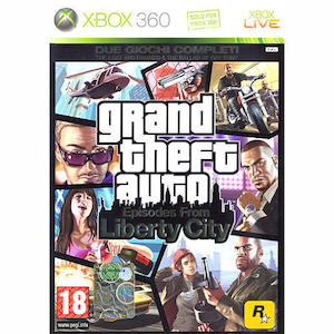 GTA - Episodes from Liberty City XBOX 360