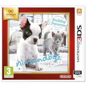 NINTENDOGS + CATS: BULLDOG FRANCESE & NUOVI AMICI SELECT - 3DS