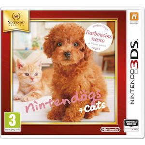 NINTENDOGS + CATS: BARBONCINO NANO & NUOVI AMICI SELECT - 3DS