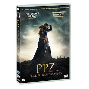 PPZ - Pride + Prejudice + Zombies - DVD
