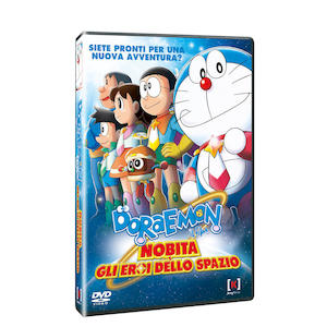 DORAEMON - Nobita e gli Eroi dello Spazio - DVD