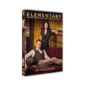 ELEMENTARY - Sagione 3 - DVD