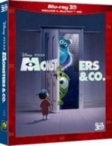 MONSTERS & CO. 3D - Blu-Ray