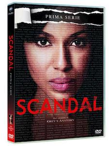SCANDAL - Stagione 1 - DVD