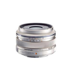OLYMPUS 17mm 1:1.8 Silver