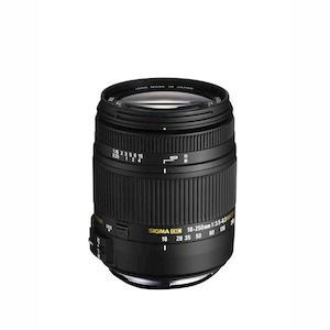 SIGMA 18-250mm f/3.5-6.3 DC Macro OS HSM AF per Canon 6030795