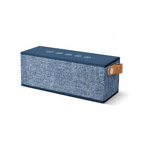 FRESH 'N REBEL Rockbox Brick Fabriq Indaco