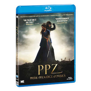 PPZ - Pride + Prejudice + Zombies - Blu-Ray
