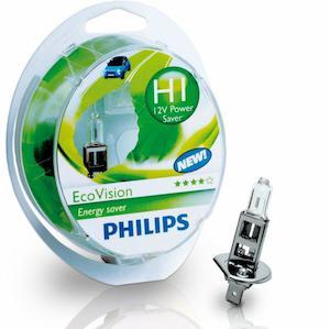 PHILIPS 2 H1 Ecovision 12V 55W