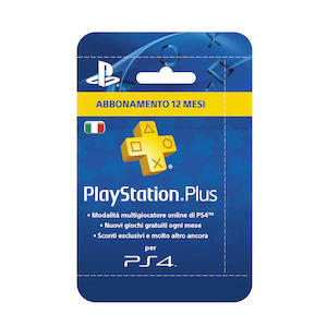 PLAYSTATION Plus 365 giorni