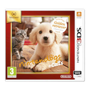 NINTENDOGS + CATS - GOLDEN RETRIEVER & NUOVI AMICI SELECT - 3DS