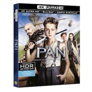 PAN - Viaggio sull'isola che non c'è (4K Ultra HD) - Blu-Ray