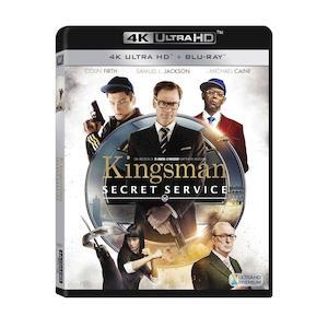 KINGSMAN - Secret Service - Ultra HD - Blu-Ray