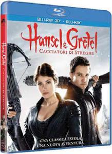 HANSEL & GRETEL Cacciatori di streghe 3D - Blu-Ray