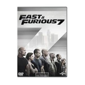 FAST & FURIOUS 7 - DVD