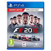 F1 2016 (Edizione limitata) - PS4