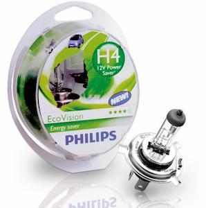 PHILIPS 2 H4 Ecovision 12V 60/55W