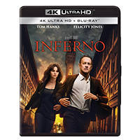 INFERNO (4K Ultra HD) - Blu-ray